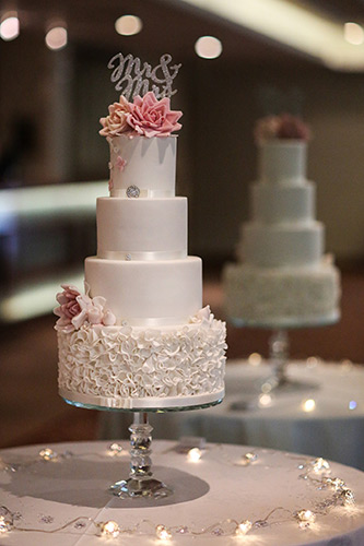 Wedding cake Cumbria